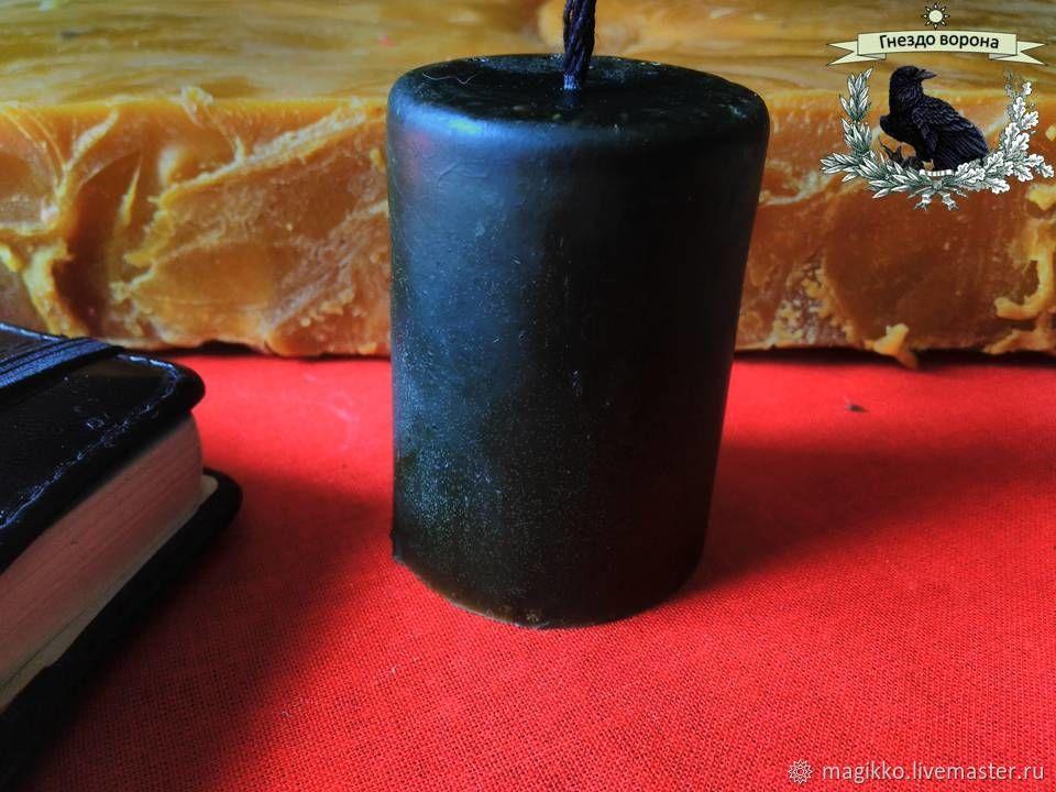 Свеча восковая на снятие негатива, Ритуальная свеча, Краснодар,  Фото №1