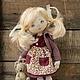 Коллекционные куклы ручной работы. Ася. Ирина Хочина 'Понарошку'. Интернет-магазин Ярмарка Мастеров. Кукла, кукла-девочка