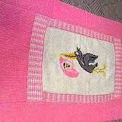 Для дома и интерьера handmade. Livemaster - original item Baby blanket for a new baby
