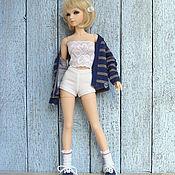 Куклы и игрушки ручной работы. Ярмарка Мастеров - ручная работа Одежда для кукол БЖД Кардиган женский/мужской Комплекты. Handmade.