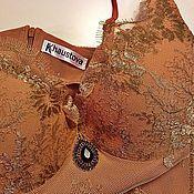 """Одежда ручной работы. Ярмарка Мастеров - ручная работа Платье из золотого кружева """"Барокко"""". Handmade."""