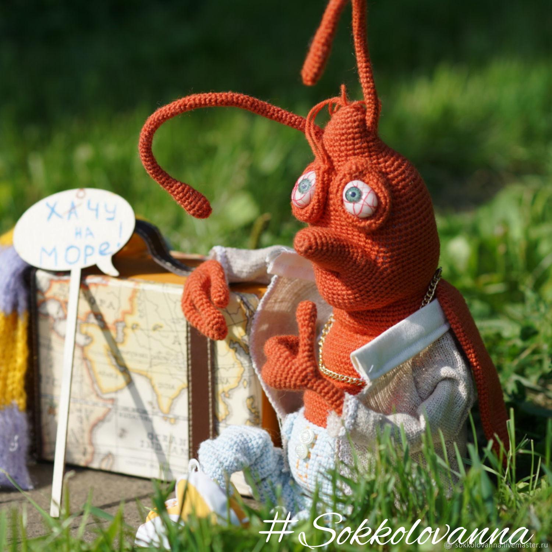 Cockroach Obidi-I want the sea, Stuffed Toys, Bologoe,  Фото №1