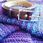 "Одежда handmade. Livemaster - original item Cardigan with a strap ""Violetta"". Handmade."