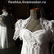 Свадебный салон ручной работы. Ярмарка Мастеров - ручная работа Свадебное платье в стиле ампир. Handmade.
