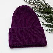 Аксессуары handmade. Livemaster - original item Fuchsia hat, mink down. Handmade.