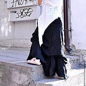 Одежда ручной работы. Ярмарка Мастеров - ручная работа Юбка Black Linen. Handmade.