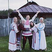 Одежда ручной работы. Ярмарка Мастеров - ручная работа Рубаха мужская традиционная. Handmade.