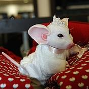 Куклы и игрушки ручной работы. Ярмарка Мастеров - ручная работа мышь реборн. Handmade.