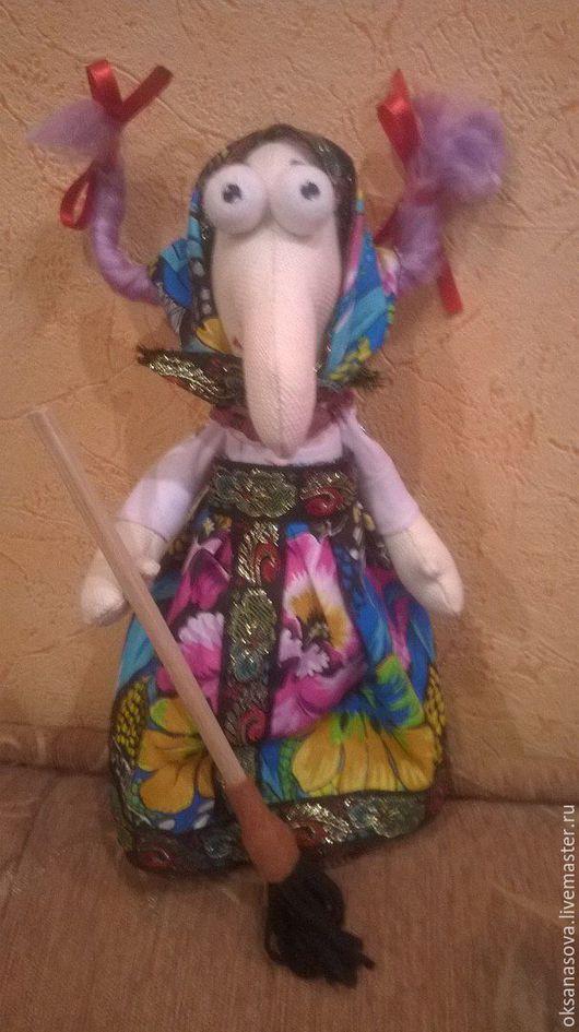 Куклы Тильды ручной работы. Ярмарка Мастеров - ручная работа. Купить Бабка-Ежка. Handmade. Бабка ёжка, кукла интерьерная