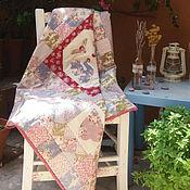 Для дома и интерьера ручной работы. Ярмарка Мастеров - ручная работа Лоскутное покрывало Птицы счастья. Handmade.