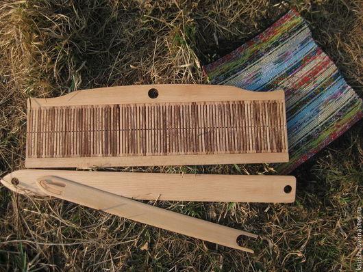 Другие виды рукоделия ручной работы. Ярмарка Мастеров - ручная работа. Купить Бердо (комплект инструментов). Handmade. Бежевый, пояс