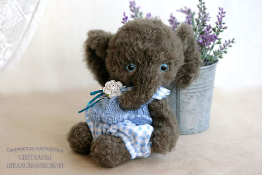 Teddys made by Svetlana Shelkovnikova
