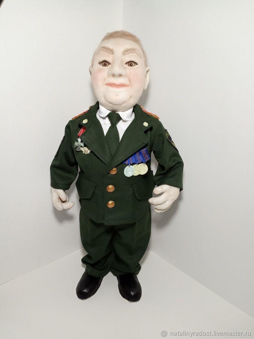 Настоящий полковник, Портретная кукла, Опарино,  Фото №1