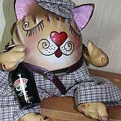Куклы и игрушки ручной работы. Ярмарка Мастеров - ручная работа КОТЫ НА УДАЧУ. Handmade.