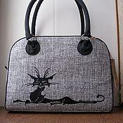 """Сумки и аксессуары ручной работы. Ярмарка Мастеров - ручная работа сумка """"Черная кошка"""". Handmade."""