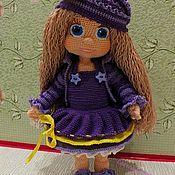 Куклы и игрушки ручной работы. Ярмарка Мастеров - ручная работа Куколка Виолетта крючком. Handmade.
