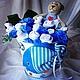 """Подарки для новорожденных, ручной работы. Ярмарка Мастеров - ручная работа. Купить Композиция из детской одежды """"Морское приключение"""". Handmade."""