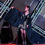 """Халаты ручной работы. Ярмарка Мастеров - ручная работа Платье-кимоно """"Тайская принцесса"""" с золотой вышивкой. Handmade."""