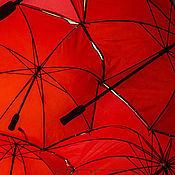 Картины и панно ручной работы. Ярмарка Мастеров - ручная работа Красное небо №2. Handmade.