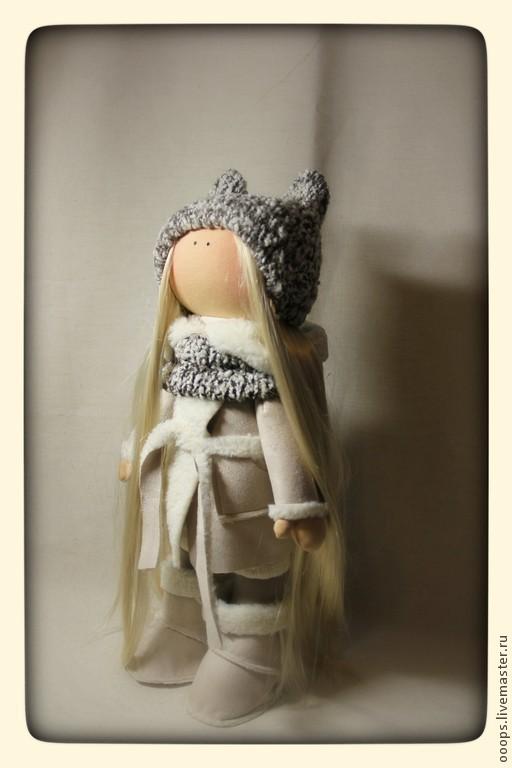 Коллекционные куклы ручной работы. Ярмарка Мастеров - ручная работа. Купить Интерьерная кукла. Handmade. Бежевый, интерьерная кукла, подарок