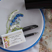 Материалы для творчества handmade. Livemaster - original item Termicheskaya pen for sketching on fabric. Handmade.