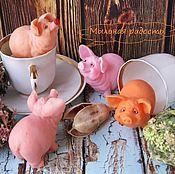 Модели ручной работы. Ярмарка Мастеров - ручная работа Сувенирное мыло ручной работы Свинка. Handmade.