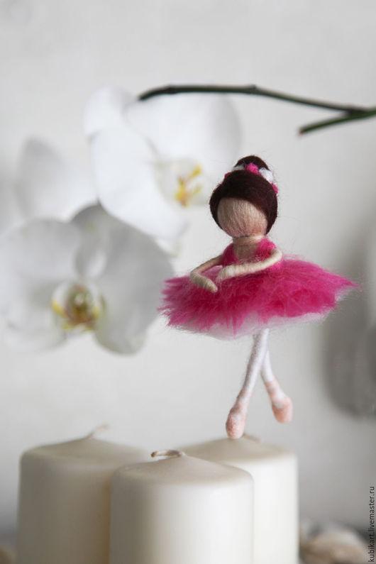 Сказочные персонажи ручной работы. Ярмарка Мастеров - ручная работа. Купить Балерина. Handmade. Розовый, балет, фея, подарок девочке