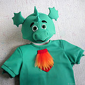 Одежда handmade. Livemaster - original item Dragon costume children`s new year for the boy dragon. Handmade.