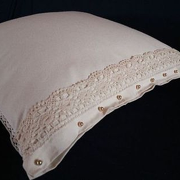 Для дома и интерьера handmade. Livemaster - original item Vintage patchwork pillow. Handmade.