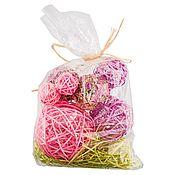 Цветы и флористика ручной работы. Ярмарка Мастеров - ручная работа Набор шаров для декора, цвета в ассортименте. Handmade.