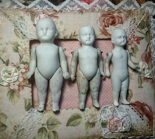 Винтажные куклы и игрушки. Ярмарка Мастеров - ручная работа. Купить Антикварные куколки Кистер. Handmade. Белый, старинная кукла