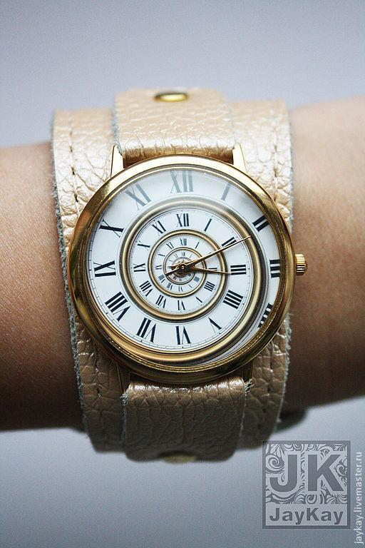 Часы ручной работы. Ярмарка Мастеров - ручная работа. Купить Наручные часы JK. Handmade. Наручные часы, дизайнерские часы