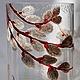 """Вазы ручной работы. Ярмарка Мастеров - ручная работа. Купить Ваза """"Первоцветы"""". Handmade. Разноцветный, цветы, подарок, краски витражные"""