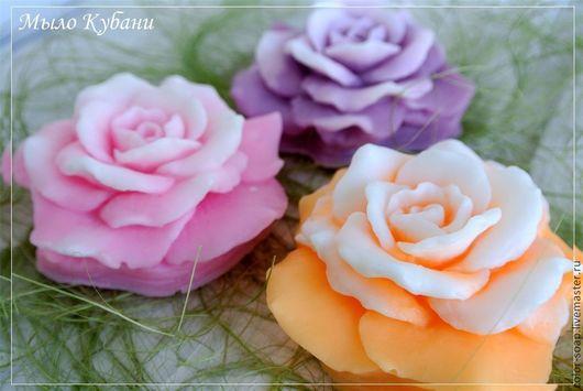 Мыло ручной работы. Ярмарка Мастеров - ручная работа. Купить Роза - мыло ручной работы в подарок, ароматное мыло. Handmade.