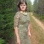 Одежда ручной работы. Ярмарка Мастеров - ручная работа Платье Полевые цветы. Handmade.