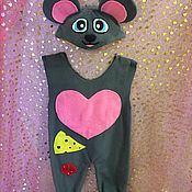 Одежда ручной работы. Ярмарка Мастеров - ручная работа Костюм мышки. Handmade.