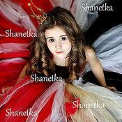 Работы для детей, ручной работы. Ярмарка Мастеров - ручная работа Комплект пышное платье для девочки и корона Будущая королева. Handmade.