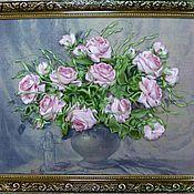 Картины и панно ручной работы. Ярмарка Мастеров - ручная работа Ангельские розы. Handmade.