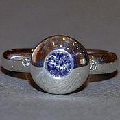 """Украшения ручной работы. Ярмарка Мастеров - ручная работа """"Леда"""" - кольцо со шпинелью и бриллиантами. Handmade."""