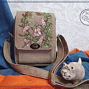handmade. Livemaster - original item Crossbody bag: Walking bag