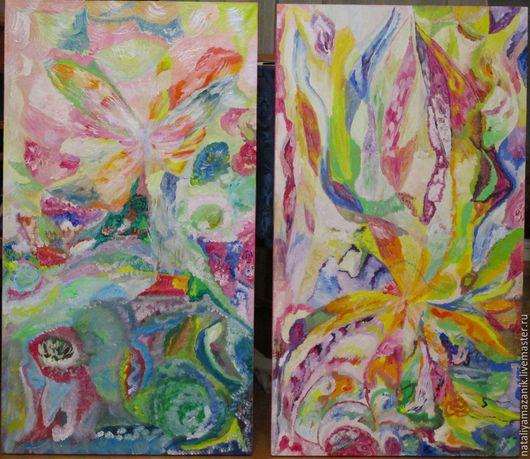 Великолепно сочетается со второй картиной `Живая музыка Чайковского`, может быть диптих.
