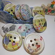 Подарки к праздникам ручной работы. Ярмарка Мастеров - ручная работа Пуговка - отличный подарок. Handmade.