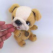 Куклы и игрушки ручной работы. Ярмарка Мастеров - ручная работа на заказ Шерлок - английский бульдог. Handmade.