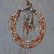 Украшения handmade. Livemaster - original item Necklace beads