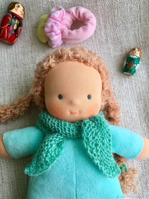 Сплюшка - Мятный Рыжик, Вальдорфские куклы и звери, Самара,  Фото №1