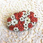 Винтаж handmade. Livemaster - original item Antique brooch Floral Europe 30-40 g. Handmade.