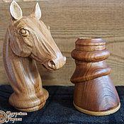 Подарки к праздникам ручной работы. Ярмарка Мастеров - ручная работа Голова коня - навершие на посох. Handmade.