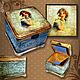 Trinket Boxes handmade. box 'tenderness'. Mspo. Online shopping on My Livemaster. Box, mint