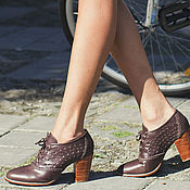 Обувь ручной работы. Ярмарка Мастеров - ручная работа Breeze . Туфли для весны и осени, оксфорды .. Handmade.