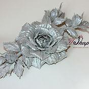 Украшения ручной работы. Ярмарка Мастеров - ручная работа Розы в серебре. Handmade.